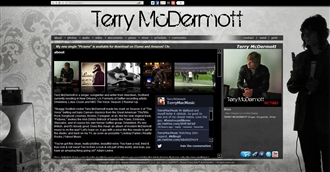 *Terry McDermott Electronic Press Kit Custom Design