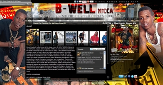 *B-Well Electronic Press Kit Custom Design