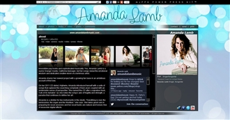 *Amanda Lamb Electronic Press Kit Custom Design