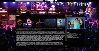*New England Electronic Press Kit Custom Design