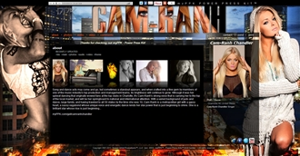 *Cam-Rahn Chandler Electronic Press Kit Custom Design