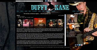 *Duffy Kane Electronic Press Kit Custom Design