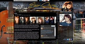 *Eileen Carey Electronic Press Kit Custom Design