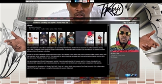 *Tko Tamanji Electronic Press Kit Custom Design