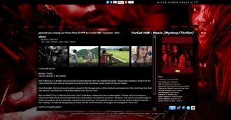 *Forget Him Movie Electronic Press Kit Custom Design
