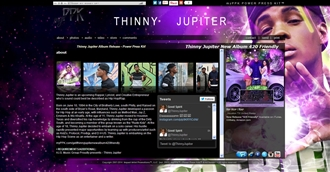 *Thinny Jupiter Electronic Press Kit Custom Design