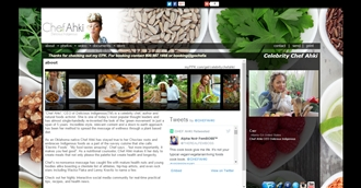 *Celebrity Chef Ahki Electronic Press Kit Custom Design