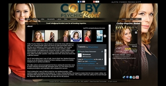 *Colby Psychic Rebel Electronic Press Kit Custom Design