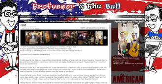 *Professor and the Bull Electronic Press Kit Custom Design