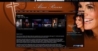 *Alma Electronic Press Kit Custom Design