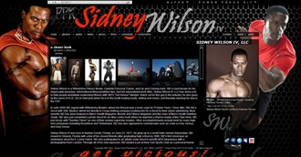 *Sidney Wilson Electronic Press Kit Custom Design