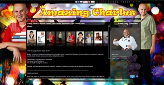 *Amazing Charles Electronic Press Kit Custom Design