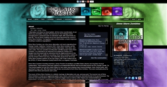 *Dime Store Zombies Electronic Press Kit Custom Design