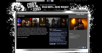 *Cody Jinks Electronic Press Kit Custom Design