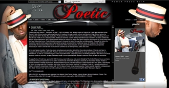 *Poetic Electronic Press Kit Custom Design