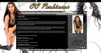 *CC Perkinson Electronic Press Kit Custom Design