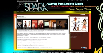 *SPARK Electronic Press Kit Custom Design