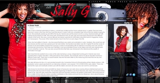 *Sally G Electronic Press Kit Custom Design