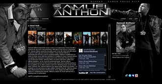*Samuel Anthoni Electronic Press Kit Custom Design