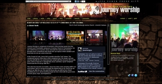 *Journey Worship Electronic Press Kit Custom Design