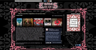 *Esme's Heart Electronic Press Kit Custom Design