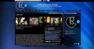 *Indie Resource Group Electronic Press Kit Custom Design