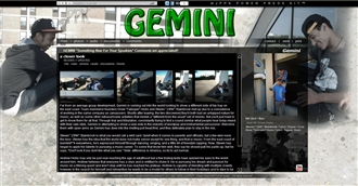 *Gemini Electronic Press Kit Custom Design