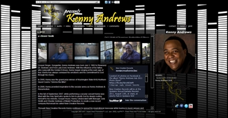 *Kenny Andrews Electronic Press Kit Custom Design