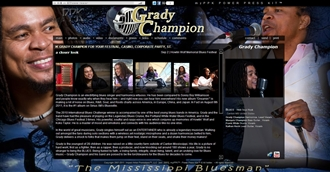 *Grady Champion Electronic Press Kit Custom Design