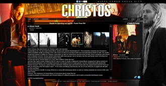 *Christos Electronic Press Kit Custom Design