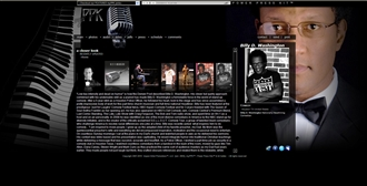 *Billy D. Washington Electronic Press Kit Custom Design